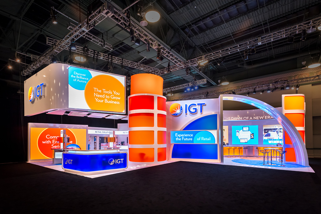 Video Wall Rental For Trade Show